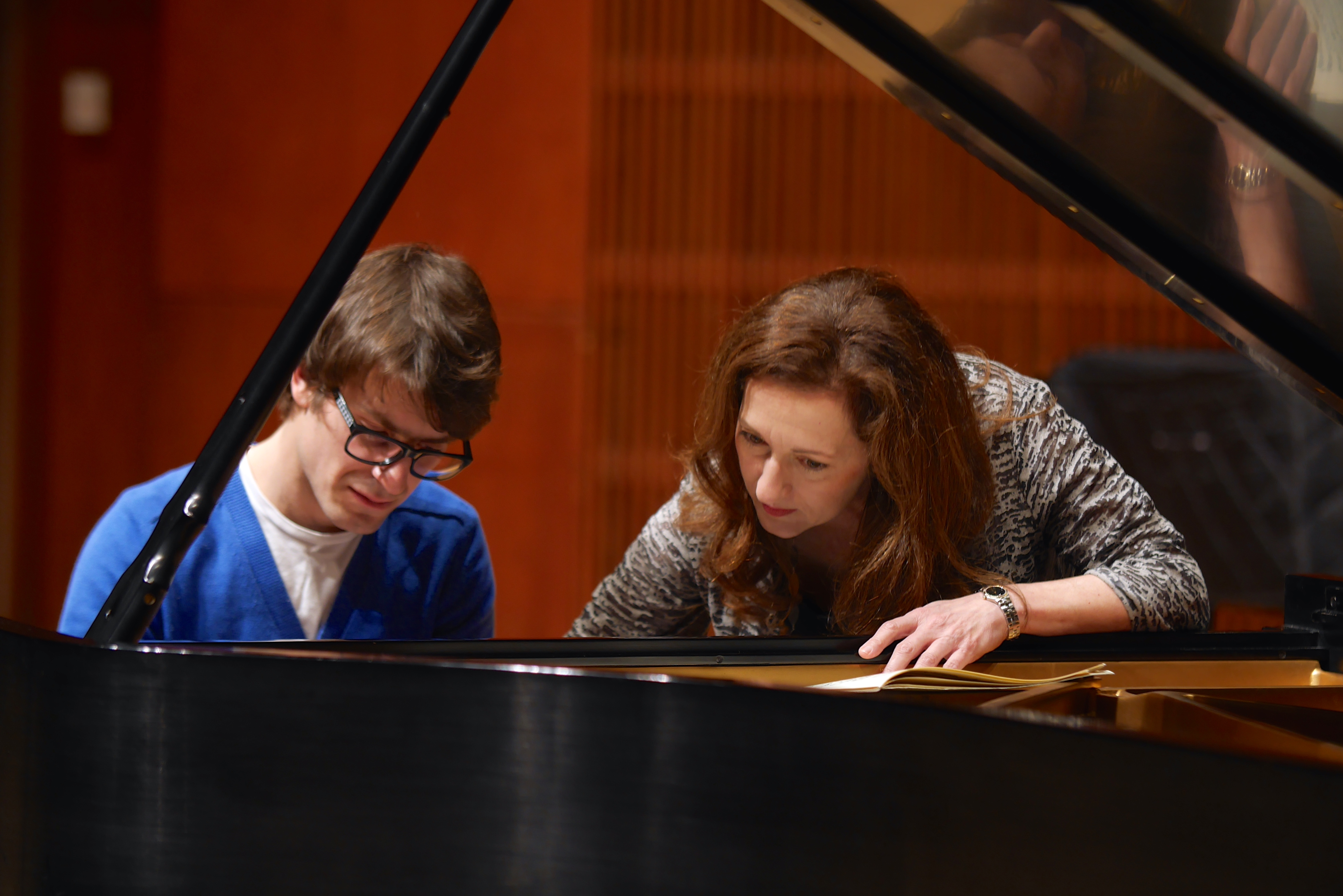 Dallas Chamber Symphony, Dallas International Piano Competition, Carol Leone & Student