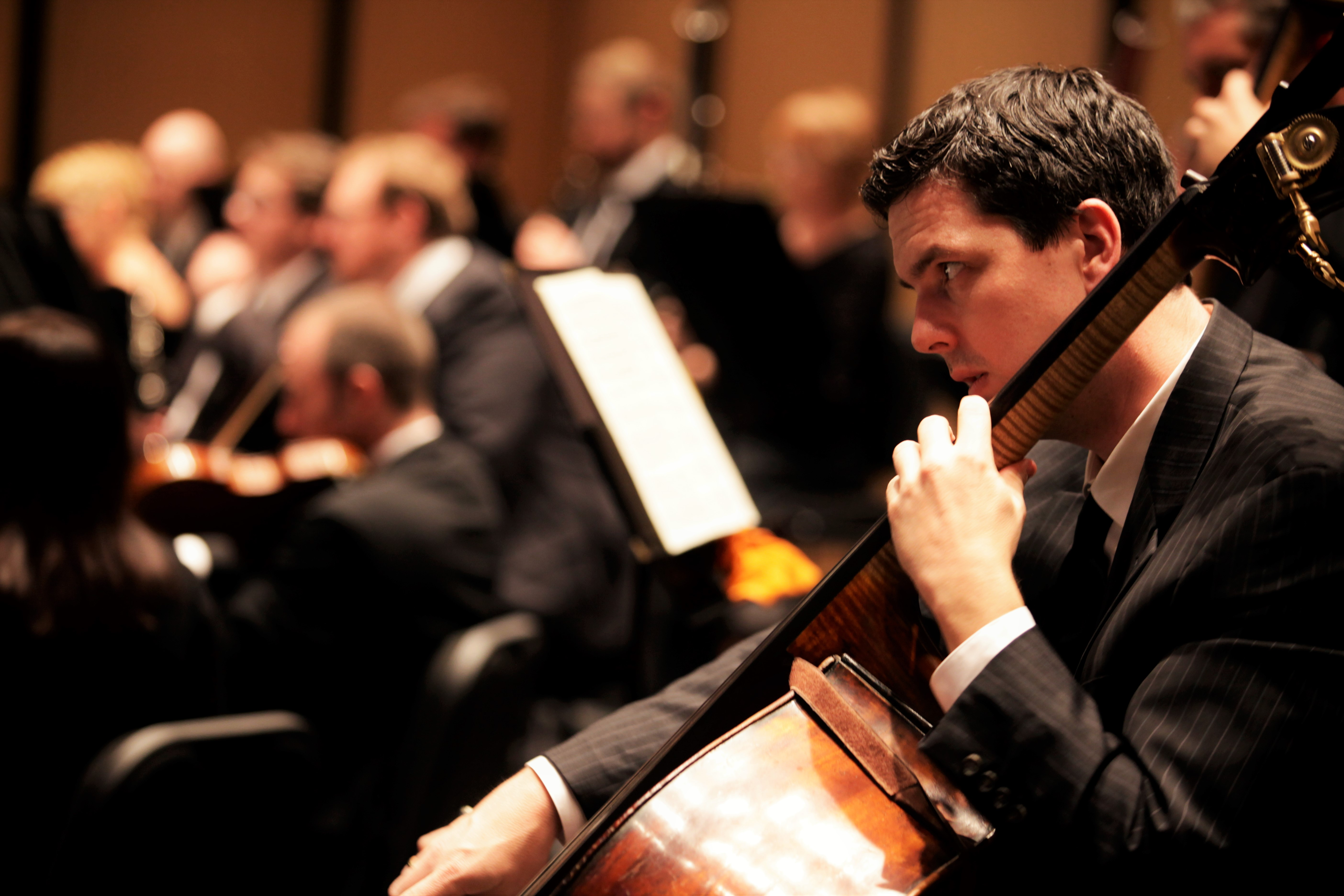Dallas Chamber Symphony Double Bassist
